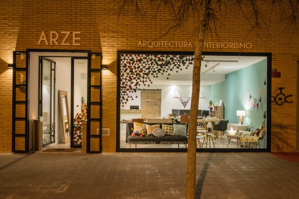 arze arquitectura interiorismo alicante showroom