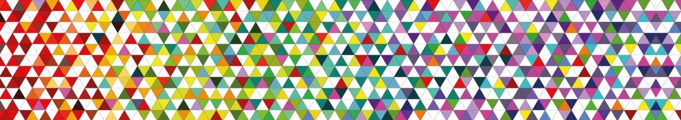 triángulos colores diseño gráfico ilustración arze alicante