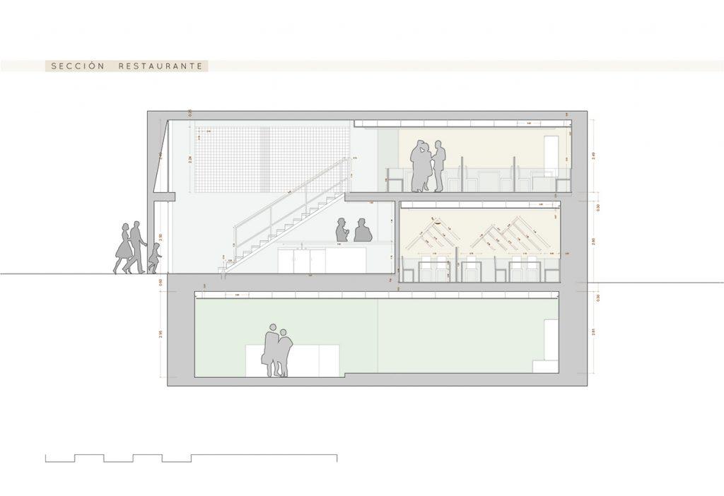 arquitectura reforma restaurante alicante oran arze