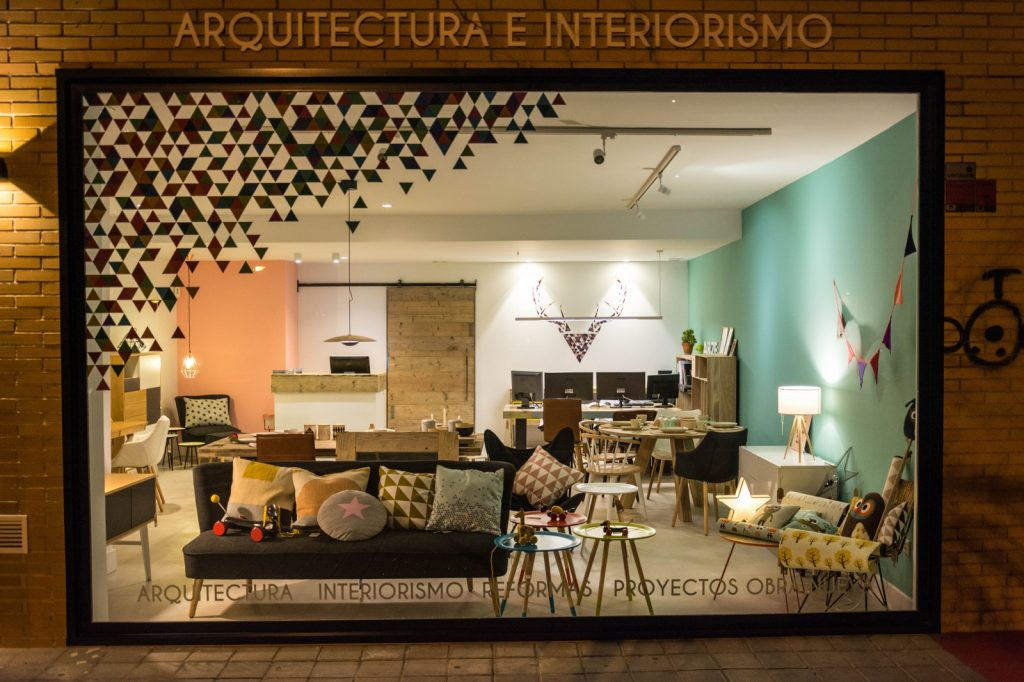arze arquitectura interiorismo showroom alicante