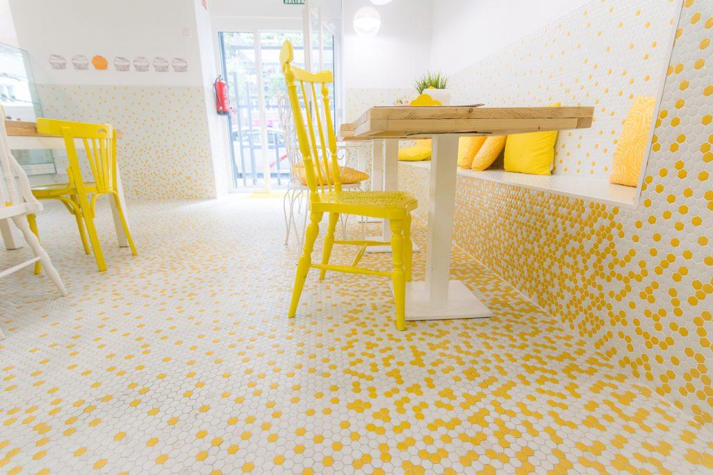 Valentinas & coffee, Madrid, interiorismo, Arze, arquitectura, Estudio Arze, design, coffee