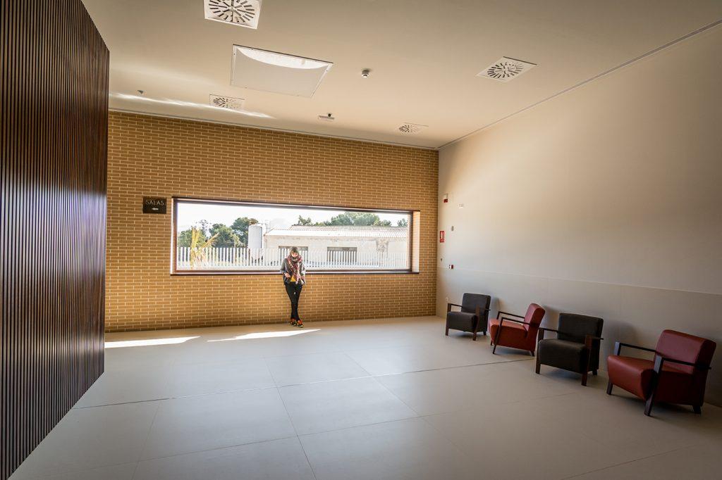 Arquitectura, interiorismo, Tanatorio Monovar, Arze, Proyecto, Obra