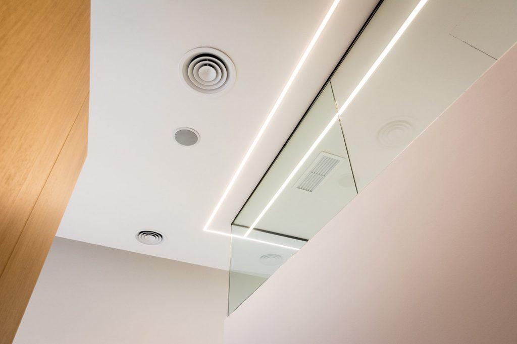 Clinica dental Bona Arze interiorismo Alicante proyecto detalle arquitectura