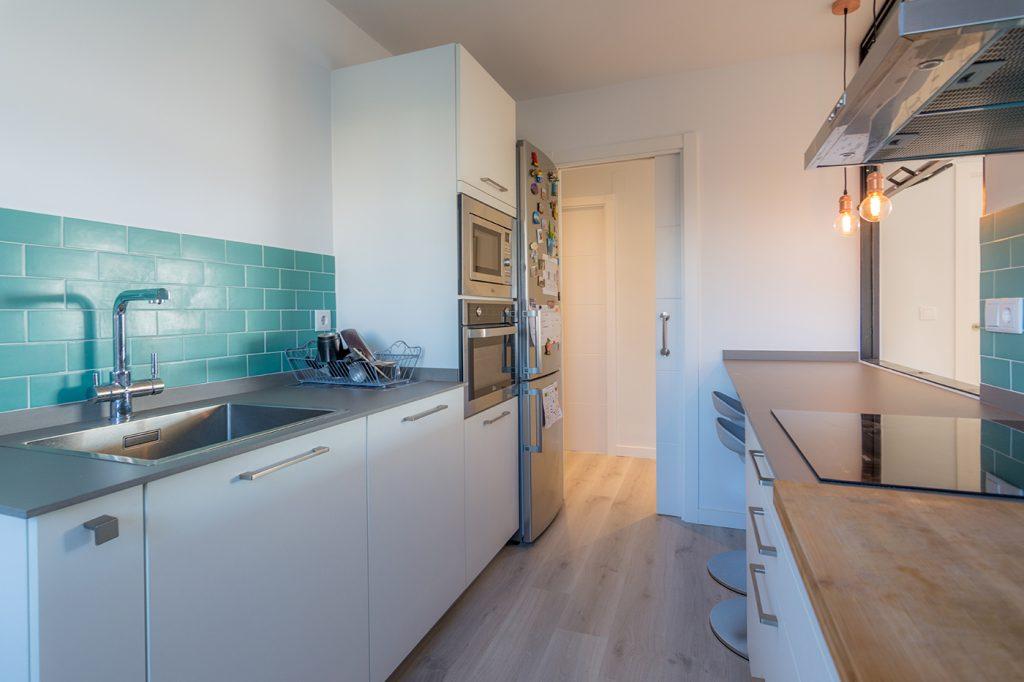 Cocina, diseño, reforma, arquitectura, interiorismo, Arze, Alicante, forja, hierro, diseño nórdico