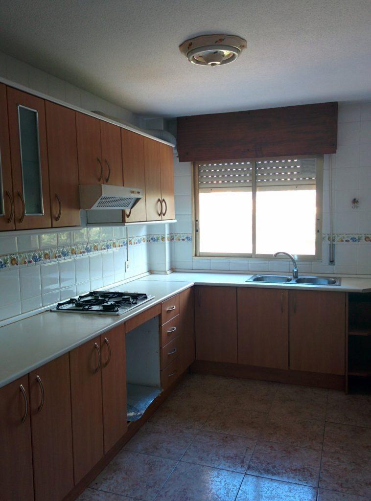 Proyecto, reforma integral, vivienda, piso, playa San Juan, Alicante, Estudio Arze, Arze, obra